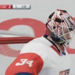 NHL 17 – Světový pohár – zápas #1
