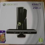Co očekávat v balení xbox 360 250GB Kinect černé provedení